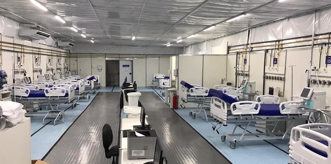 Hospital de Campanha de Caruaru ganha mais 10 leitos de UTI